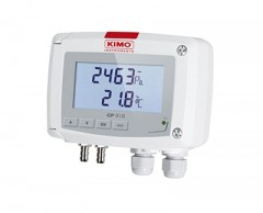 키모 CP210 차압/온도 트랜스미터