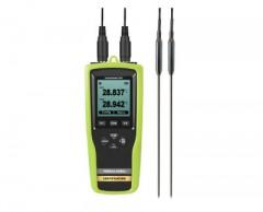 YOWEXA / 휴대용 2채널 온도측정기 / PT100 온도 센서 / YET-720-L-K